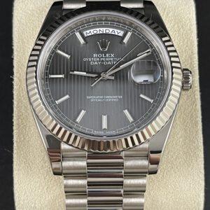 Rolex Day Date 40 Weißgold
