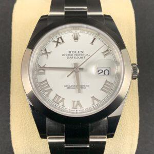 Rolex Datejust 41 Weiß
