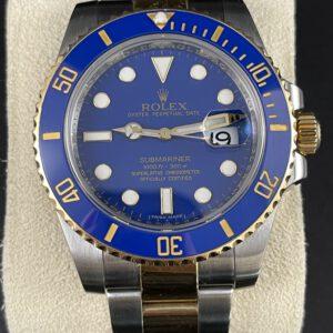 Rolex Submariner 40, Stahlgold