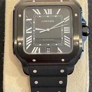 """Cartier Santos """"Black Steel"""""""