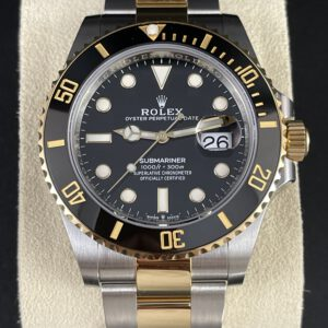 Rolex Submariner Date 41, Stahlgold