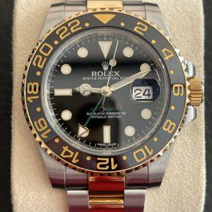 Rolex GMT Master II Stahlgold