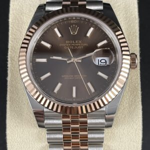 Rolex Datejust 41, Stahlrosegold