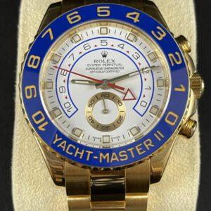 Rolex Yachtmaster II Vollgold