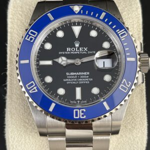 Rolex Submariner Date 41, Weißgold