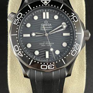 Omega Sea Master Diver 300 Black