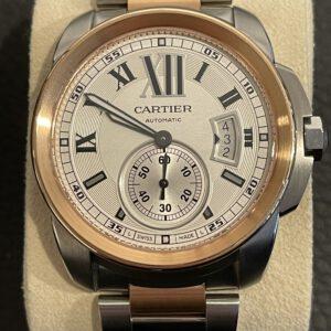 Cartier Calibre de Cartier Stahlgold