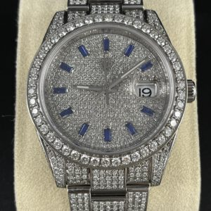 """Rolex Datejust 41 """"Iced Out"""""""