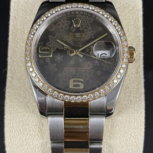"Rolex Datejust 36 ""Flower Dial"""